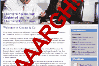 Why Most Accountants' Websites Stink