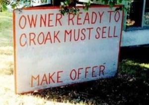 vendor sign