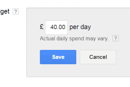 Why you should Never Cap your Adwords Budget