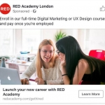 Red Academy London Ad
