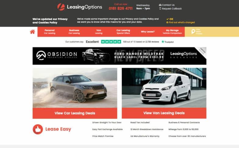 Leasing Options