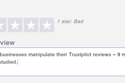 Can you trust Trustpilot? – 9 million reviews studied